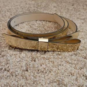 Kate Spade Skinny Bow Belt